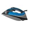 Sunbeam® turbo STEAM™ Iron, Silver & Blue